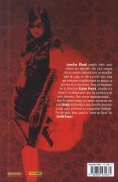 Verso de Jennifer Blood -3- Sans peur et sans reproche