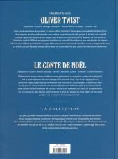 Verso de Les indispensables de la Littérature en BD -FL02- Oliver Twist / Le conte de Noël