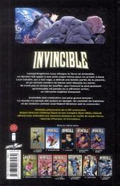 Verso de Invincible -11- Toujours invaincu