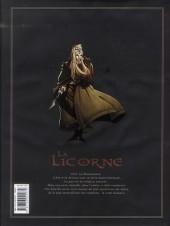 Verso de La licorne -INT- Intégrale