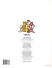 Verso de Garfield -20a1998- Garfield ne se mouille pas