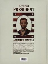 Verso de Pinkerton -2- Dossier Abraham Lincoln - 1861