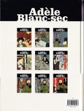 Verso de Adèle Blanc-Sec (Les Aventures Extraordinaires d') -3c- Le Savant fou