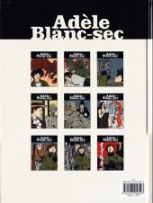 Verso de Adèle Blanc-Sec (Les Aventures Extraordinaires d') -6c10- Le Noyé à deux têtes