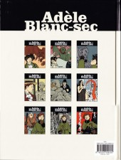 Verso de Adèle Blanc-Sec (Les Aventures Extraordinaires d') -7d10- Tous des monstres !