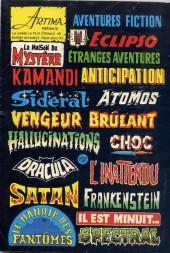 Verso de Le vicomte (Comics Pocket) -7- La Sibérie, Vicomte