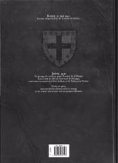 Verso de Les démons d'Armoises -2- Jehanne des Garous