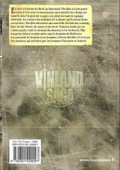 Verso de Vinland Saga -12- Tome 12