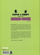 Verso de Eerie et Creepy présentent Richard Corben -1- Volume 1