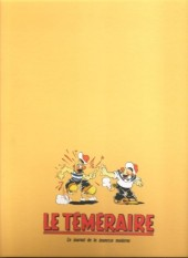 Verso de Le teméraire (périodique) -1- Numéros 1 à 10