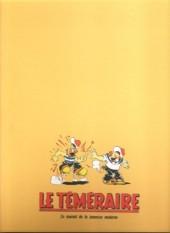 Verso de Le teméraire (périodique) -4- Numéros 31 à 41