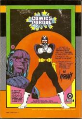 Verso de Power Man -Rec03- Deux aventures de Power Man (n°05 et Conan le Barbare n°14)