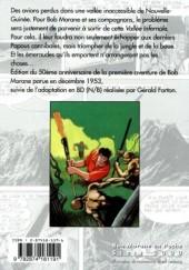 Verso de Bob Morane 6 (Ananké/Miklo) -08Poch- La Vallée infernale