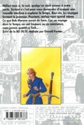 Verso de Bob Morane 6 (Ananké/Miklo) -8Poch- L'Épée du paladin
