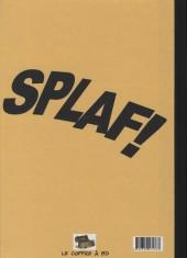 Verso de Monsieur Splaf - Monsieur splaf