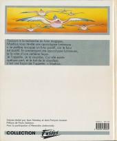 Verso de (AUT) Giraud / Moebius -1- La mémoire du futur