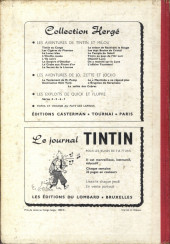 Verso de (Recueil) Tintin (Album du journal - Édition belge) -30- Tome 30