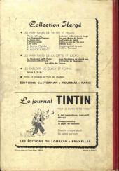 Verso de (Recueil) Tintin (Album du journal - Édition belge) -33- Tome 33