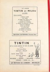Verso de (Recueil) Tintin (Album du journal - Édition belge) -3- Tome 3