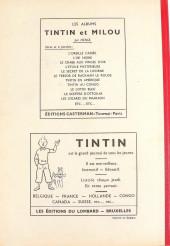 Verso de (Recueil) Tintin (Album du journal - Édition belge) -2- Tome 2