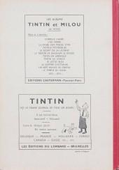 Verso de (Recueil) Tintin (Album du journal - Édition belge) -6- Tome 6