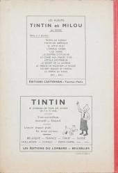 Verso de (Recueil) Tintin (Album du journal - Édition belge) -7- Tome 7