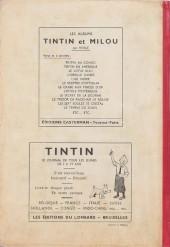 Verso de (Recueil) Tintin (Album du journal - Édition belge) -8- Tome 8