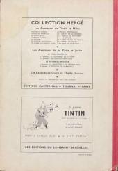 Verso de (Recueil) Tintin (Album du journal - Édition belge) -18- Tome 18