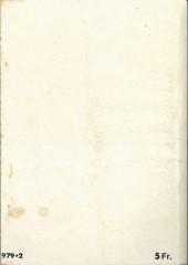 Verso de Rapaces (Impéria) -Rec52- Collection reliée N°52 (du n°332 au n°335)