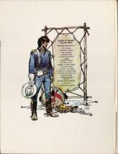Verso de Blueberry -11b1977- La mine de l'Allemand perdu