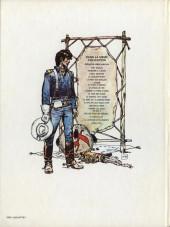 Verso de Blueberry (La Jeunesse de) -1a1977- La Jeunesse de Blueberry