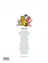Verso de Garfield -25a1999- Garfield est sur la mauvaise pente