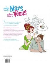 Verso de Les hommes viennent de Mars, les femmes viennent de Vénus -2- Sous la couette