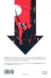 Verso de Hawkeye (100% Marvel - 2013) -2- Petits coups