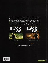 Verso de Black Op -7- Tome 7