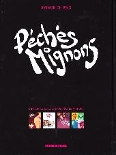 Verso de Péchés Mignons -INT- Péchés mignons