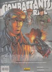 Verso de Combattants du rail -2- Des cheminots en enfer