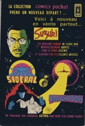 Verso de Sidéral (3e série - Arédit - Comics Pocket) -1- Le troisième bocal