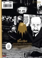 Verso de Billy Bat -9- Volume 9