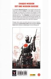 Verso de Bloodshot -1- À feu et à sang