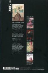 Verso de Fables (avec couverture souple) -20- L'Héritier du vent