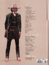 Verso de Blueberry - La collection (Hachette) -3215- Cavalier bleu