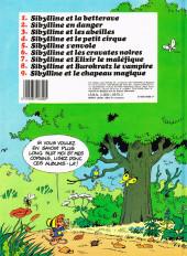 Verso de Sibylline -9- Sibylline et le chapeau magique