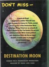 Verso de (AUT) Hergé - Dossier Lune