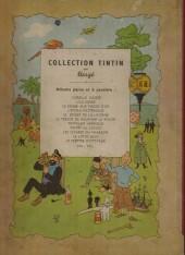 Verso de Tintin (Historique) -3B01'- Tintin en amérique