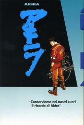 Verso de Akira (en italien) -38- Capitolo finale