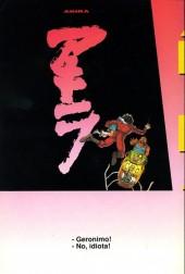 Verso de Akira (en italien) -33- Fuoco dallo spazio