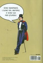 Verso de Classici del fumetto di Repubblica (I) -15- Mandrake e l'uomo mascherato