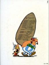 Verso de Astérix (en italien) -1- Astérix il gallico