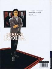 Verso de Niklos Koda -2- Le Dieu des chacals